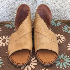 Free People Mont Blanc Leather Sandals 9.5 - 10